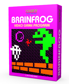 8-Bit Retro Game brainfrog