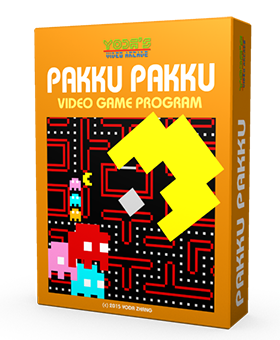8-Bit Retro Game pakkupakku