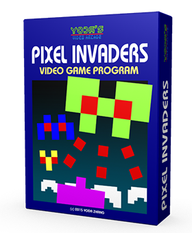 8-Bit Retro Game pixelinvaders