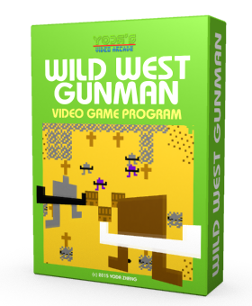 8-Bit Retro Game wildwestgunman